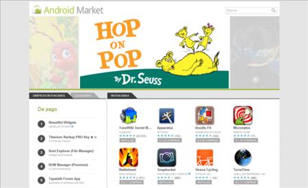 La web del Android Market es una de las mejores cosas que ha hecho Google con su tienda de aplicaciones.