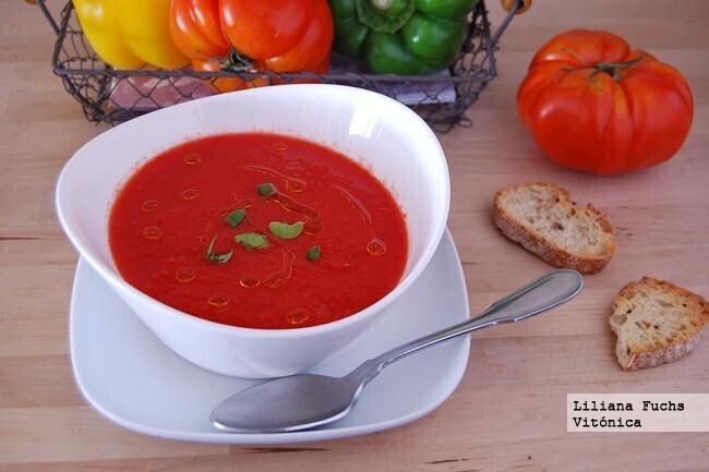 El gazpacho es el plato por excelencia del verano: estos son todos los nutrientes y vitaminas que nos aporta y sus beneficios