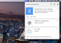 El canal Canary de Chrome ya nos permite tener Google Now en el Mac