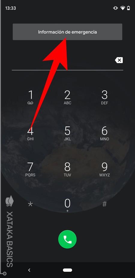 Informacion De Emergencia