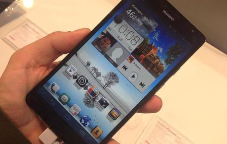 Huawei Ascend Mate, primer contacto