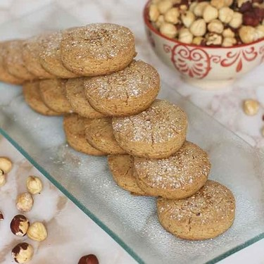 Mantecados de avellana, receta tradicional de Navidad