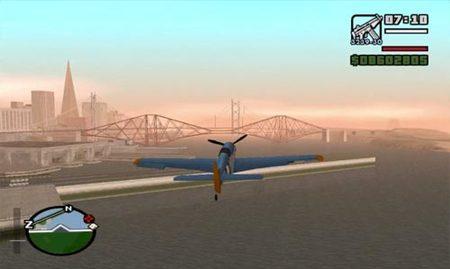 GTA San Andreas - Volando