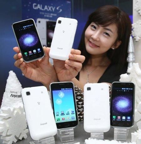"""Samsung Galaxy S """"Snow White"""", ¿el blanco que aparecerá en Europa?"""