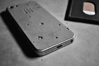 Para un iPhone <em>trendy</em> y muy bien protegido, carcasa de cemento