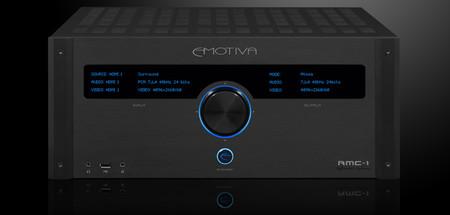 Emotiva mostrará su nuevo procesador de sonido RMC-1 en septiembre, que vendrá con unas prestaciones impresionantes