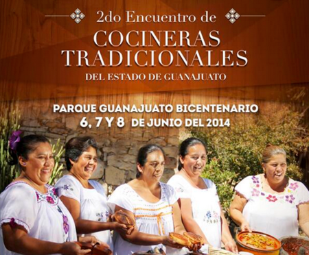 2º Encuentro de Cocineras Tradicionales del Estado de Guanajuato
