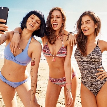 Hiba Abouk, Bimba Bosé y Eva González: las mujeres que se gustan de women'secret