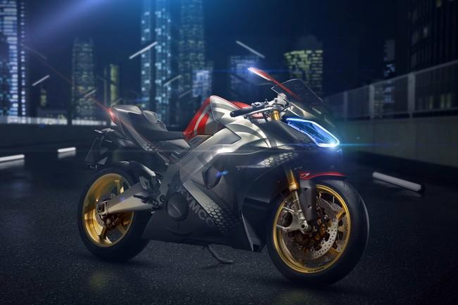 ¡Ojo! Kymco SuperNEX: una moto eléctrica y deportiva que pasa de 0 a 250 km/h en menos de 11 segundos