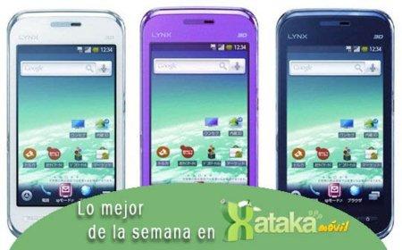 Las pantallas 3D cada vez más cerca de la telefonía móvil, Lo mejor de la semana en Xataka Móvil