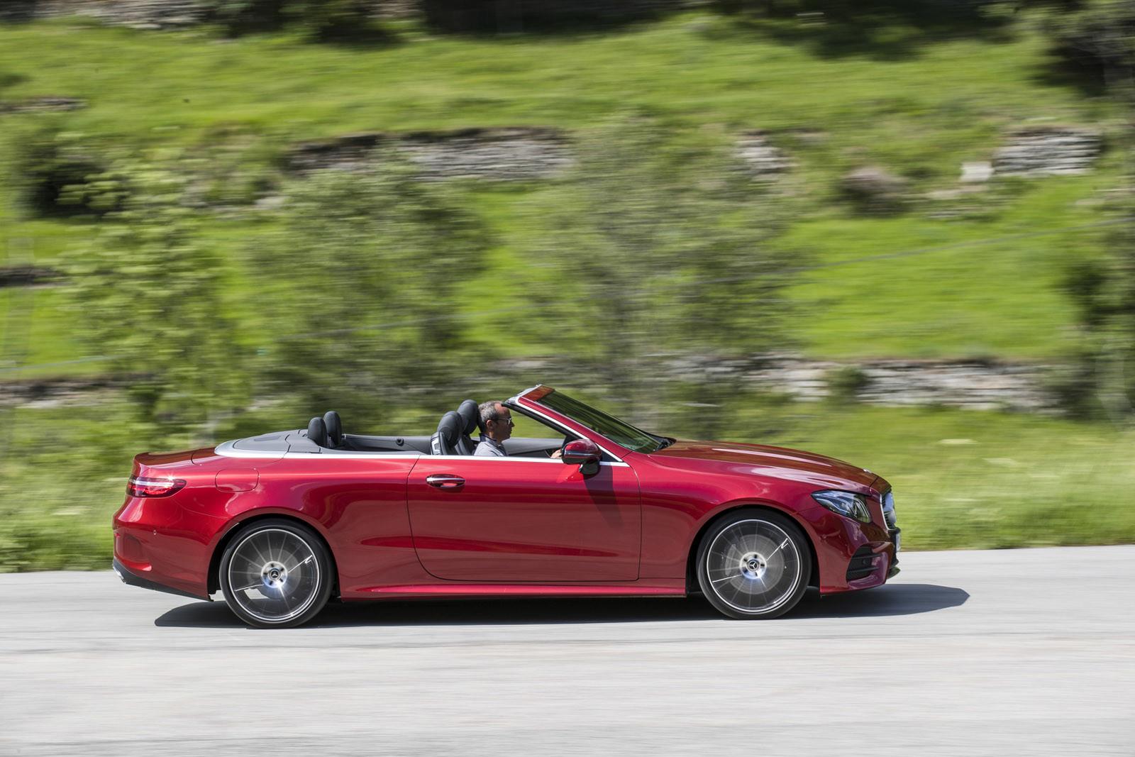 Foto de Mercedes-Benz Clase E Cabrio, toma de contacto (154/156)