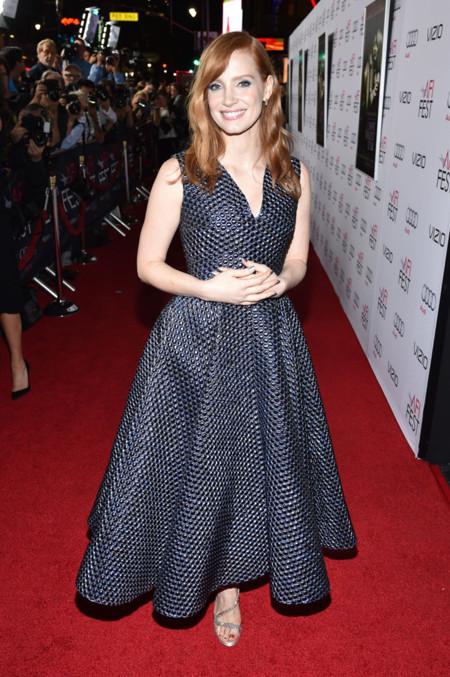 Jessica Chastain Roksanda Ilincic vestido
