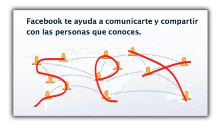 Imagen de la Semana: Facebook is for...