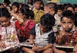 Puzzle Niños de la India de Global Humanitaria