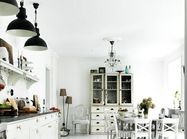 Una cocina reciclada de cinco tenedores