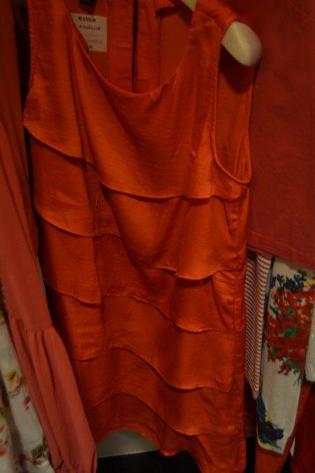 Fiesta rojo Mango Primavera-Verano 2012