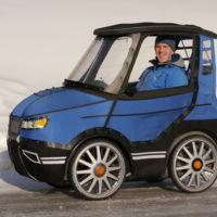 El PodRide es la bici-coche eléctrica que podría popularizar el transporte en bicicleta