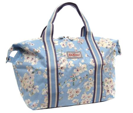Cath Kidston Bolsa De La Compra Plegable Diseno De Flores De Wellsley En Color Azul