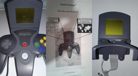 El prototipo de Secret Screen, un extraño accesorio con pantalla para Nintendo 64, reaparece más de 20 años después