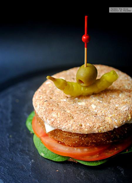 Hamburguesa de alubias rojas y arroz: receta vegetariana saludable