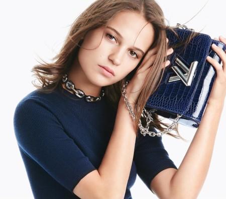 Alicia Vikander se hace (of course) con el Twist y la campaña Louis Vuitton Primavera-Verano 2016