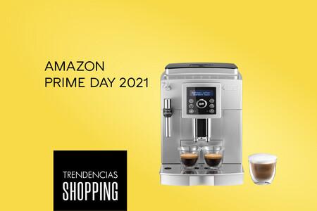 Los capuccinos o espressos más cremosos en casa con la cafetera superautomática más vendida en Amazon (rebajadísima en el Prime Day)