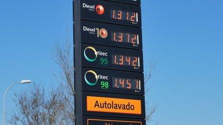 Precios del combustible en marzo