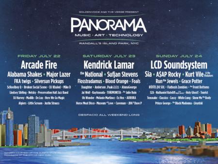 De los creadores de Coachella llega Panorama, en Nueva York