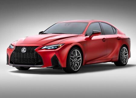 Lexus IS 500 F Sport Performance, un V8 atmosférico de 472 hp y tracción trasera para un sedán japonés con alma de muscle car
