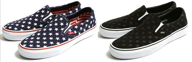 zapatillas vans estrellas