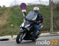 Prueba de la Yamaha X-City 125 (2/4)