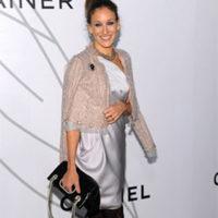 Sarah Jessica Parker y los stilettos metálicos de Balenciaga