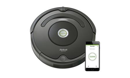 Las Rebajas de El Corte Inglés tienen el robot aspirador Roomba 676 por sólo 229,95 euros