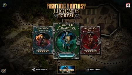 Fighting Fantasy Legends Portal: tres aventuras del rol más clásico en tu móvil