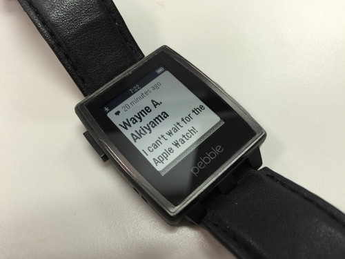 El caso Pebble: Apple se dispara en el pie en vísperas del lanzamiento del Watch