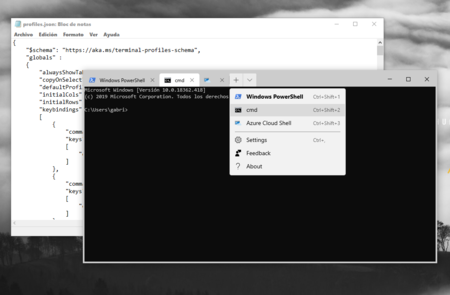 La nueva Terminal de Windows recibe una gran actualización, con mejores pestañas y perfiles dinámicos