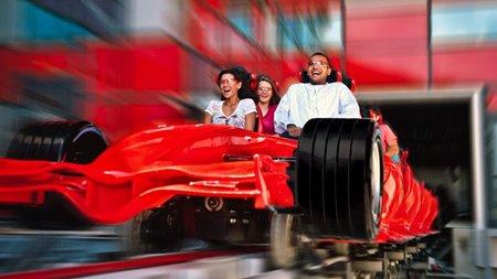 Ferrari World Abu Dhabi, primeras fotos tras el pase privado