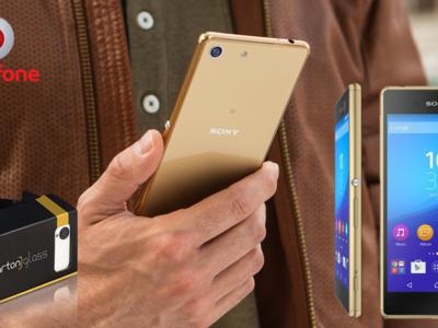 Precios Sony Xperia M5 con Vodafone, gafas de realidad virtual incluidas