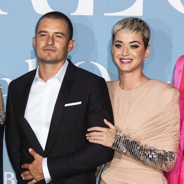 Love is in the air... Katy Perry y Orlando Bloom reaparecen en la alfombra roja juntos