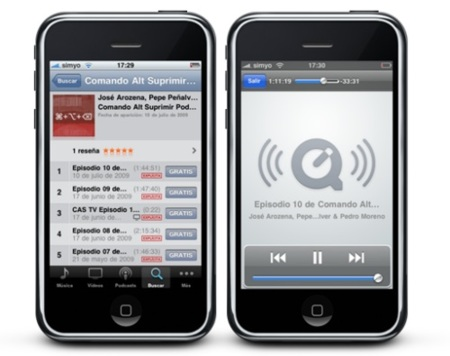 Podcast vía streaming desde la aplicación iTunes de tu iPhone o iPod Touch