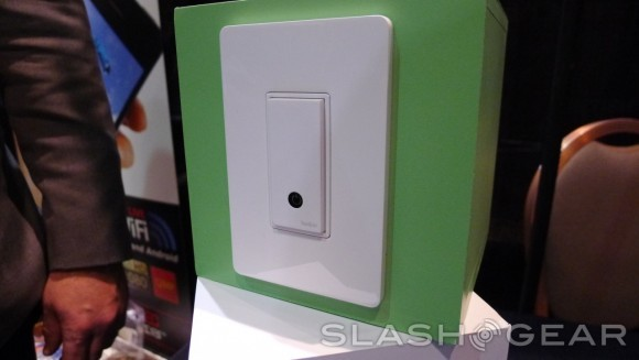 Interruptor Light Switch de Belkin, que completa el sistema WeMo
