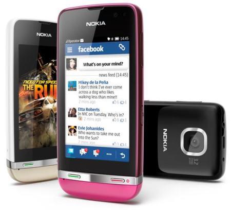 Nokia Asha 311, 306 y 305, los nuevos Asha Touch que llegaron del frío
