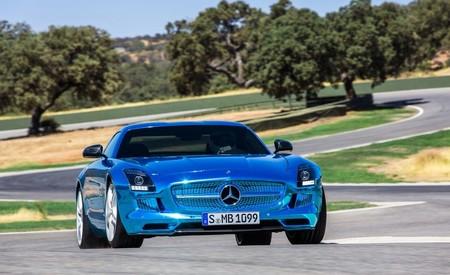 Mercedes Amg Sls Electric Drive 1