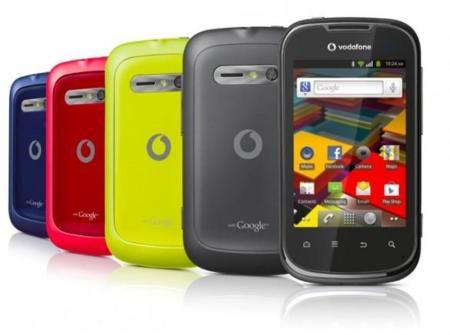 Vodafone Smart II, el nuevo gama baja rojo