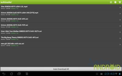 Subloader pone subtítulos a tus series en Android