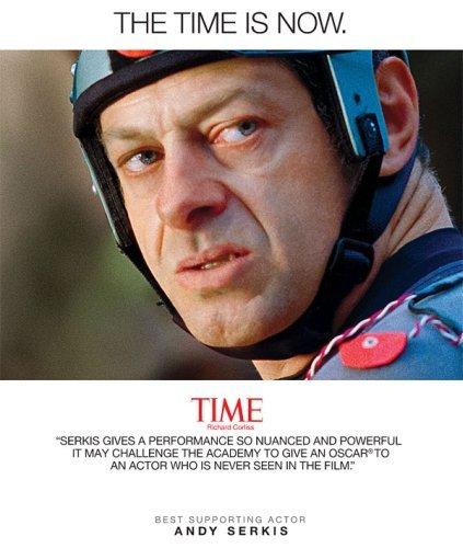 Imagen de la campaña para que Andy Serkis fuera nominado al Oscar