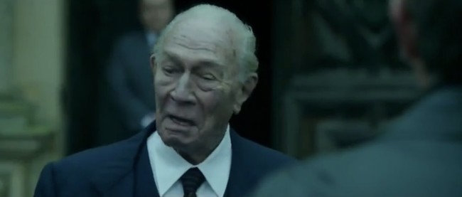 Christopher Plummer on All the Money in the World