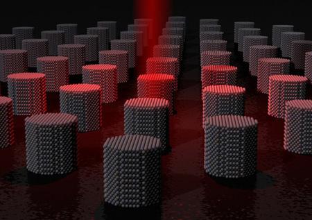 La grabación de datos mediante pulsos de calor abre las puertas a tasas de transferencia de 200GBps