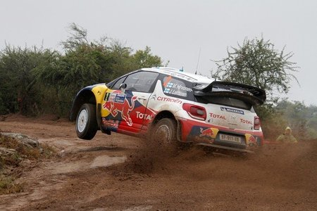 Rally de Argentina 2012: Los Citroën se destacan tras el primer día