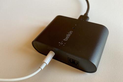 Análisis: Este pequeño conector de Belkin lleva AirPlay 2 a cualquier dispositivo con solo enchufar un cable